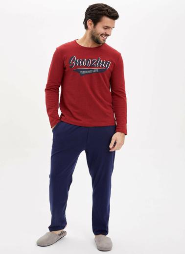 DeFacto Pijama Üst Kırmızı